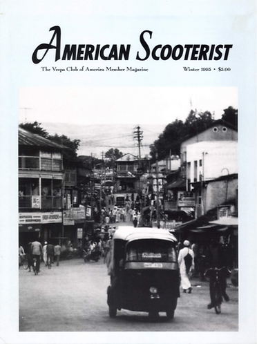 American Scooterist #14 Winter 95
