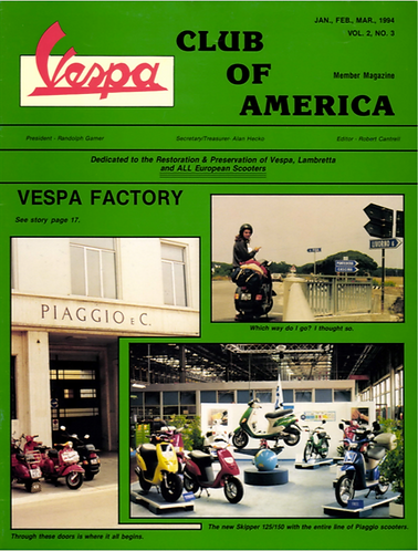 American Scooterist #7 Spring 94 Digital Download