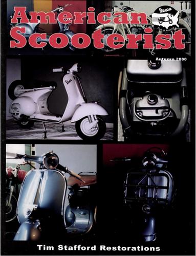 American Scooterist #30 Fall 2000