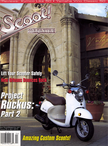 Scoot! Magazine April 2010 #55