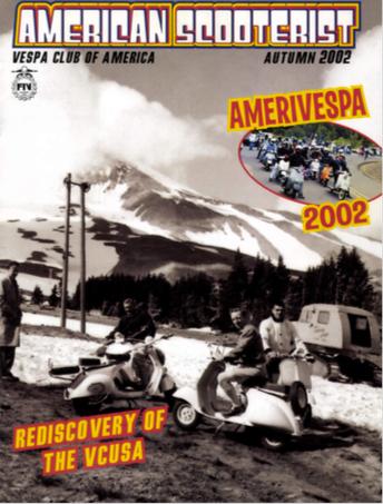 American Scooterist #38 Fall 2002 Digital Download