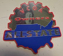 Allstate owners sticker