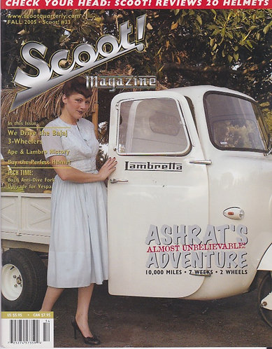 Scoot! Magazine Fall 2005 #33