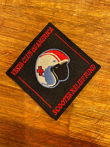 Scooter Relief Fund supporter patch