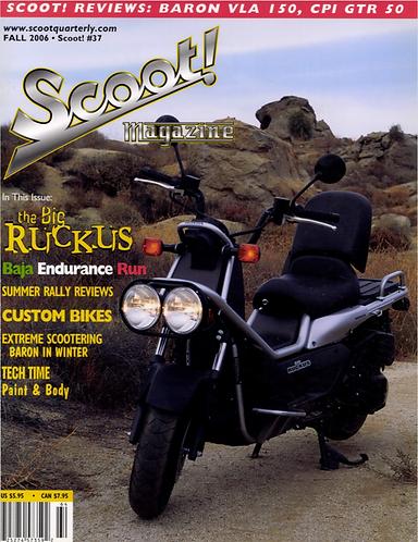 Scoot! Magazine Fall 2006 #37