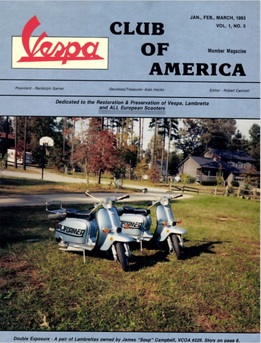 American Scooterist #3 Spring 93