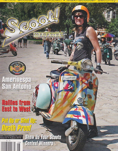 Scoot! Magazine August 2010 #57