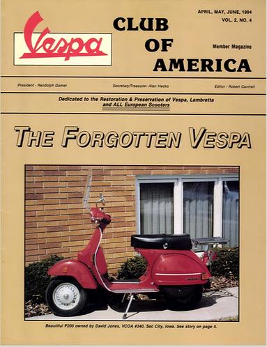 American Scooterist #8 Summer 94
