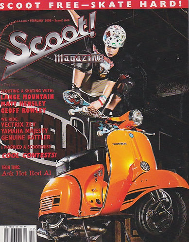 Scoot! Magazine Feb 2008 #44