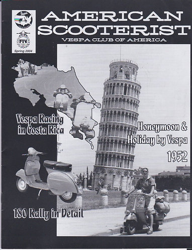 American Scooterist #44 Spring 2004