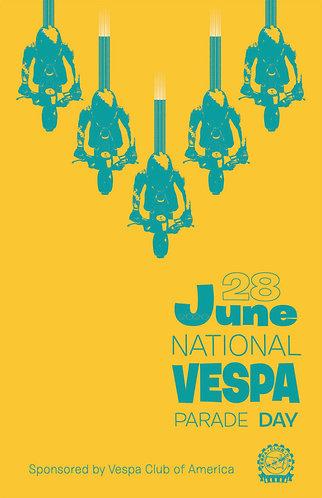 2020 National Vespa Parade Dayposter