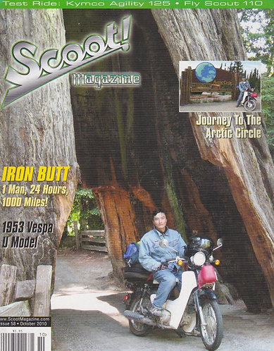 Scoot! Magazine Oct 2010 #58