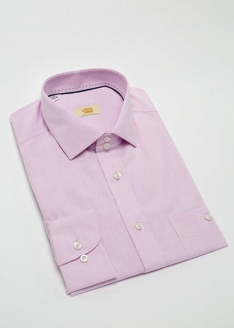 Риза с дълъг ръкав розово