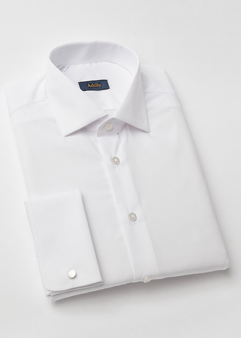Риза за смокинг бяла
