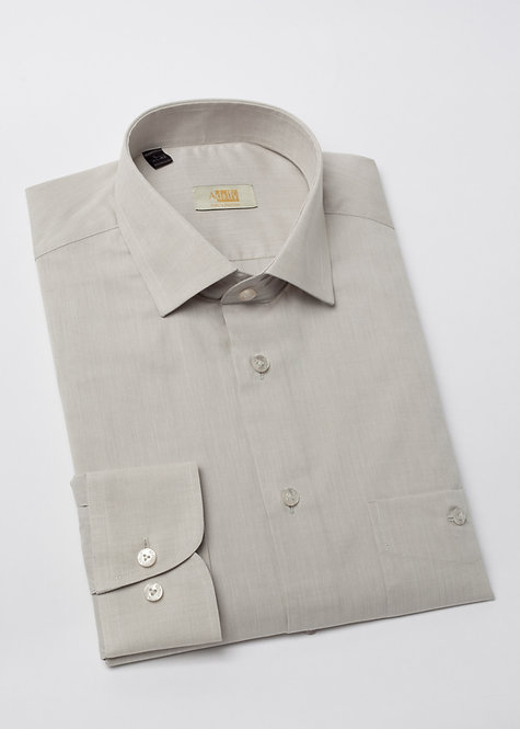 Риза с дълъг ръкав бежова