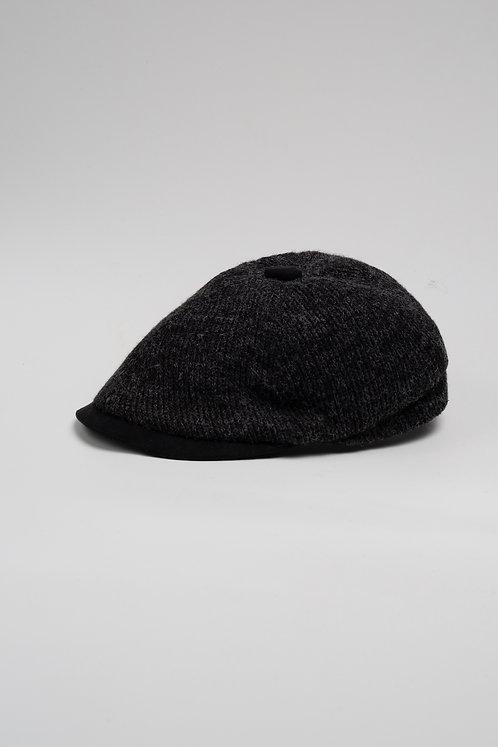 Зимен мек каскет черен