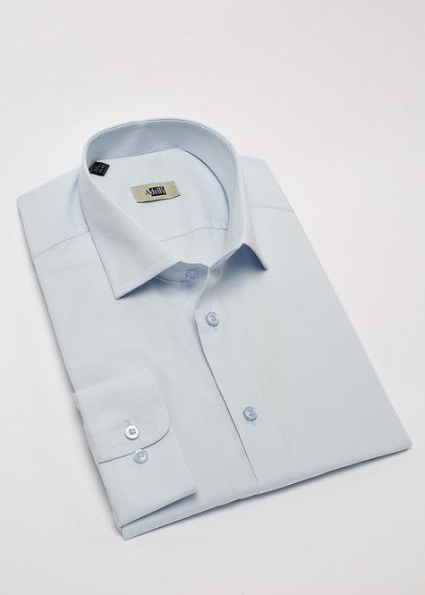 Риза с дълъг ръкав  светло синьо
