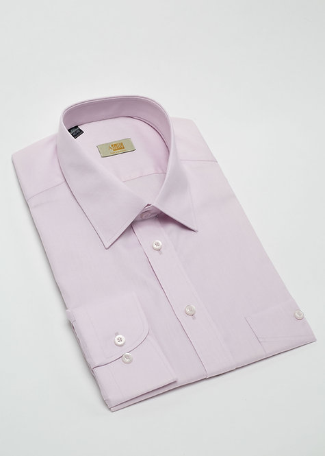 Риза с дълъг ръкав бледо розово