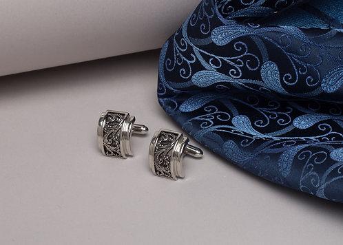 Копчета за ръкавели с флорален мотив