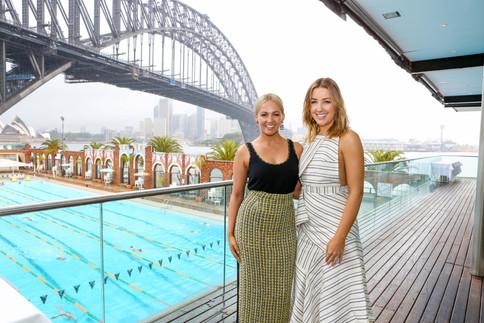 Samantha Jade Aqua Blu Cosmetics Launch