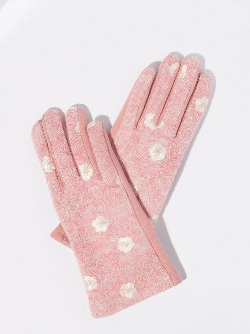 Дамски ръкавици-пепел от рози на цветя