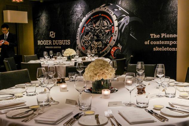 Roger Dubuis Launch at Park Hyatt