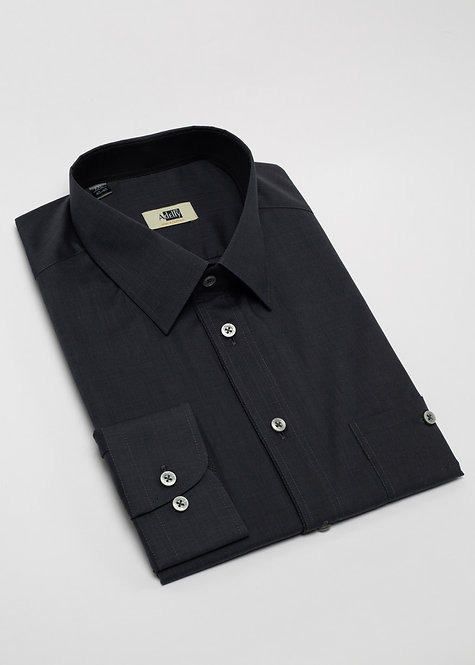 Риза с дълъг ръкав графит