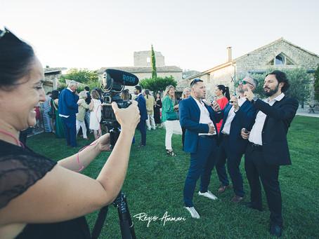 Hervé et Magali, un mariage en Provence au milieu des lavandes