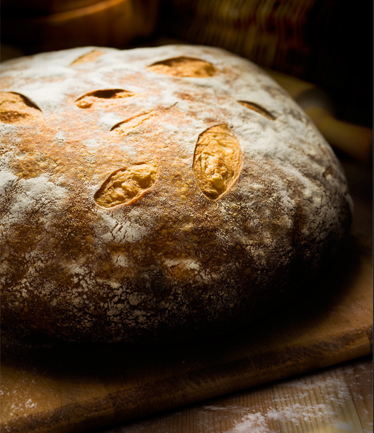 a gorgeous sourdough bread… made by somebody else. I will do this myself . . . one day. soon.