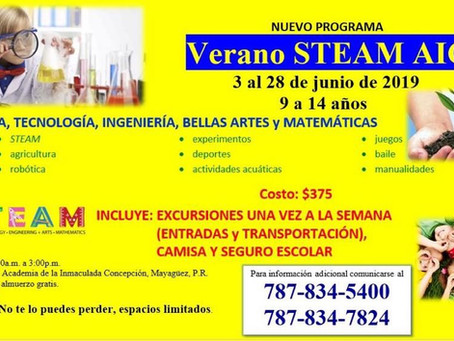 La Academia de la Inmaculada Concepción ofrecerá el primer programa de verano STEAM
