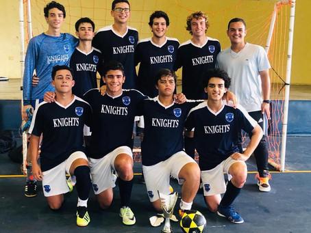 Knights se proclaman campeones en Torneo de Soccer de Caribbean School de Ponce