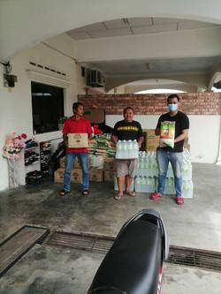 Help for Kahang Flood Victim