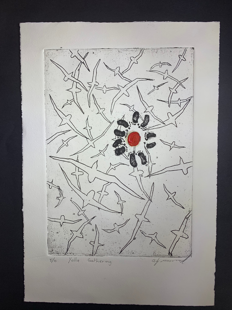 Black Ant Art - Allan Mansell -Yolla Gathering