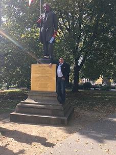 Allan and Statue 2.JPG