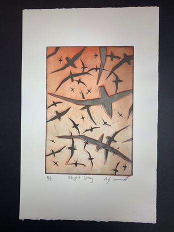 Black Ant Art - Allan Mansell - Night Sky