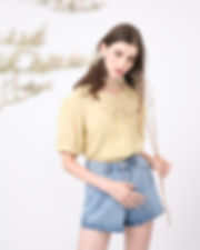 27th September 2 - Pnelo Top Pale Yellow