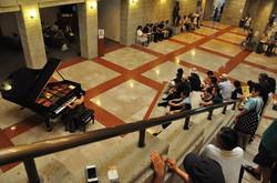 Concert at museum, Tokyo 2014
