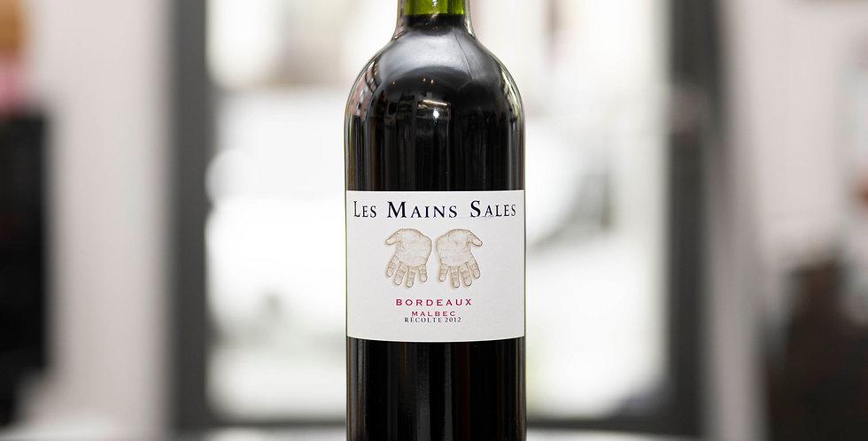 Les Mains Sales, Malbec, Bordeaux AOC, 2012, 75cl, Vignoble Bouillac