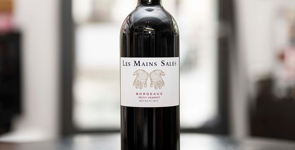 Les Mains Sales, Petit Verdot, Bordeaux AOC, 2012, 75cl, Vignoble Bouillac