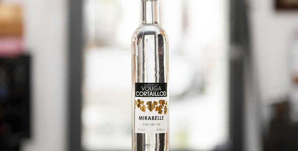 Eau de Vie de Mirabelle, Vouga, Cortaillod (Schweiz), 37,5cl, 42%vol.