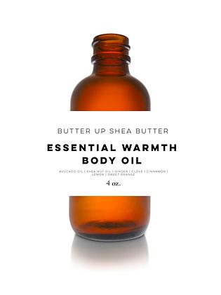 Essential Warmth Body Oil