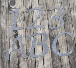 Numbers & Letters