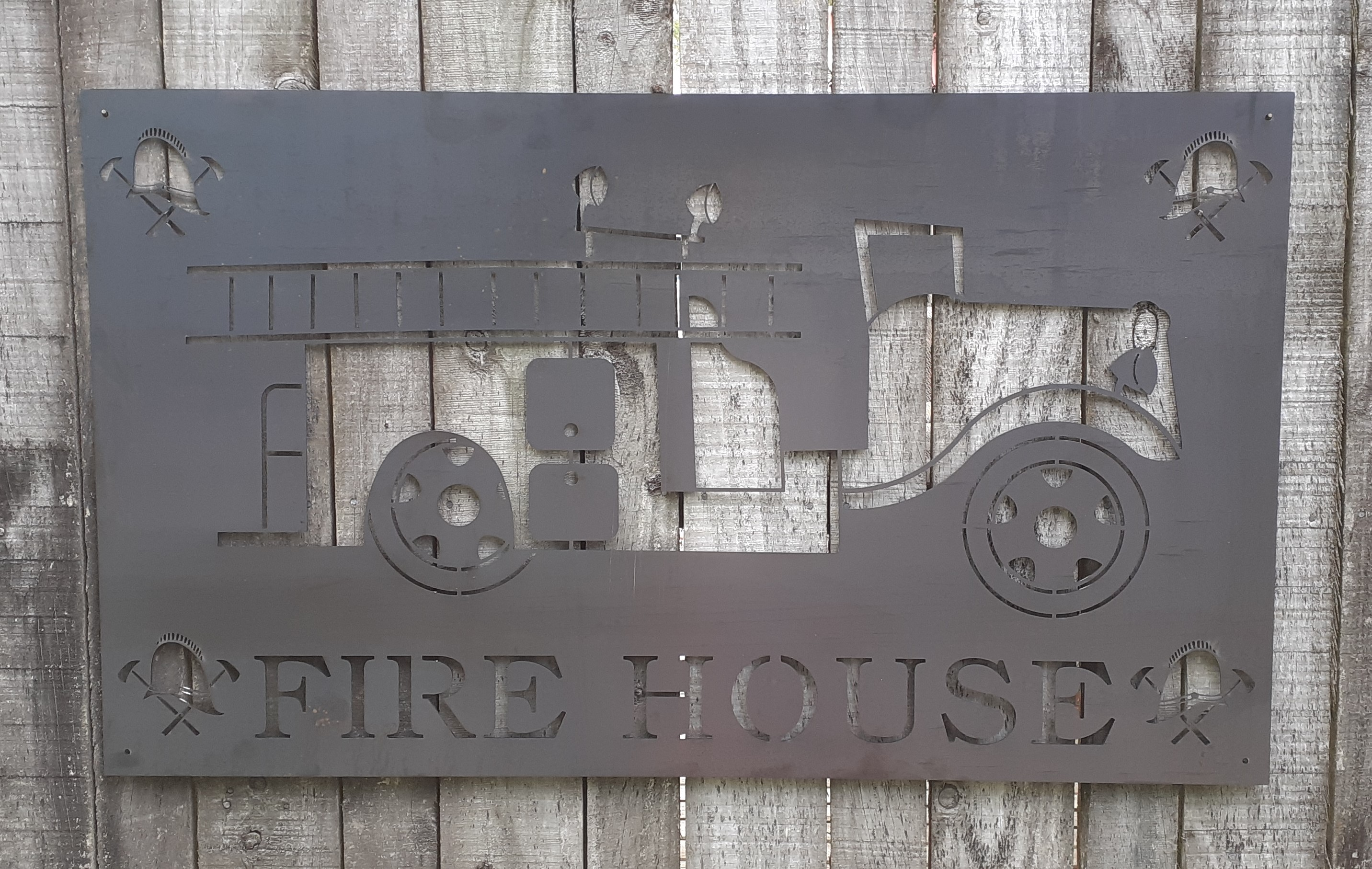 Fire House Sign