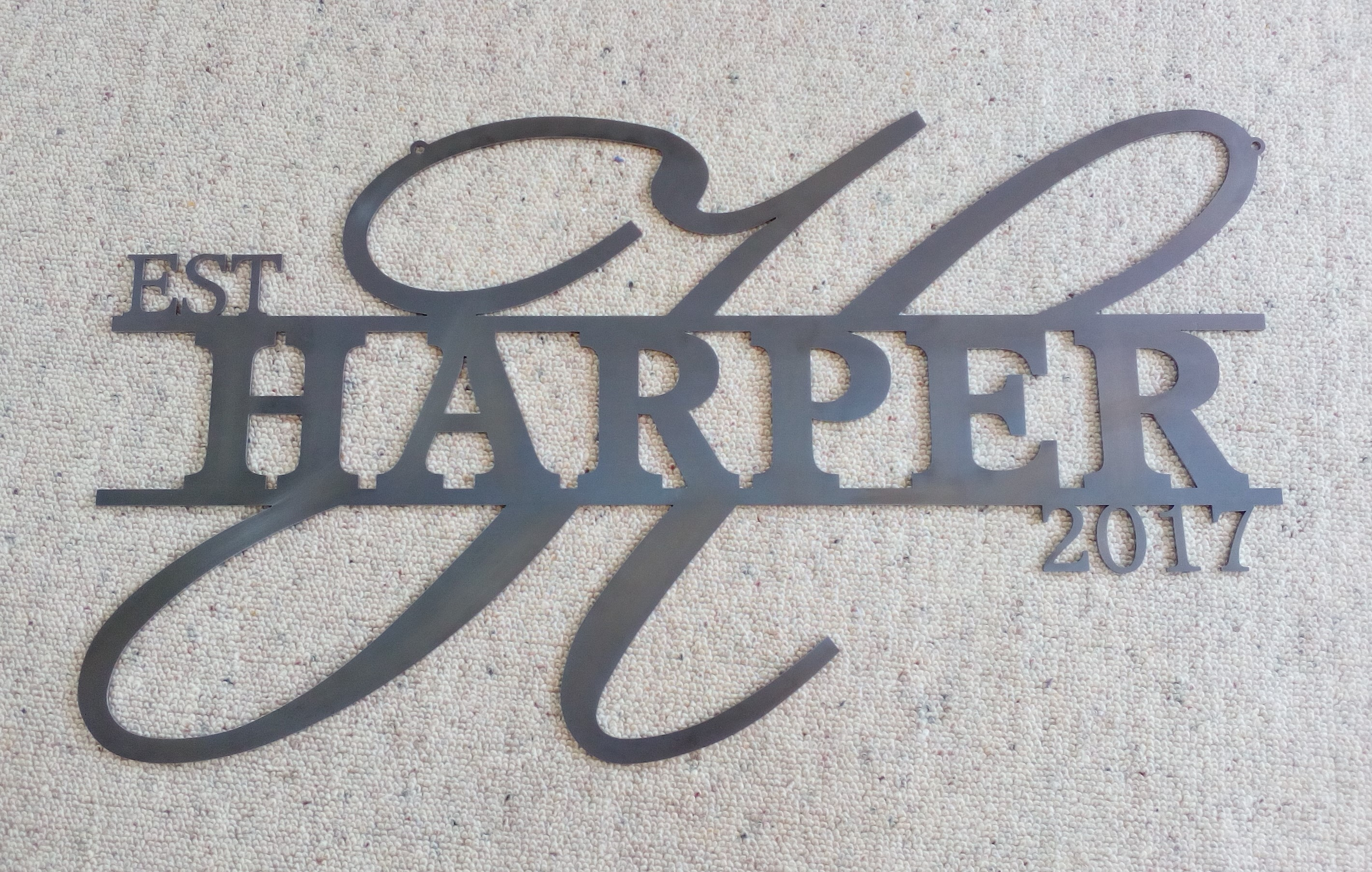 Harper Sign