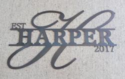 Harper Sign