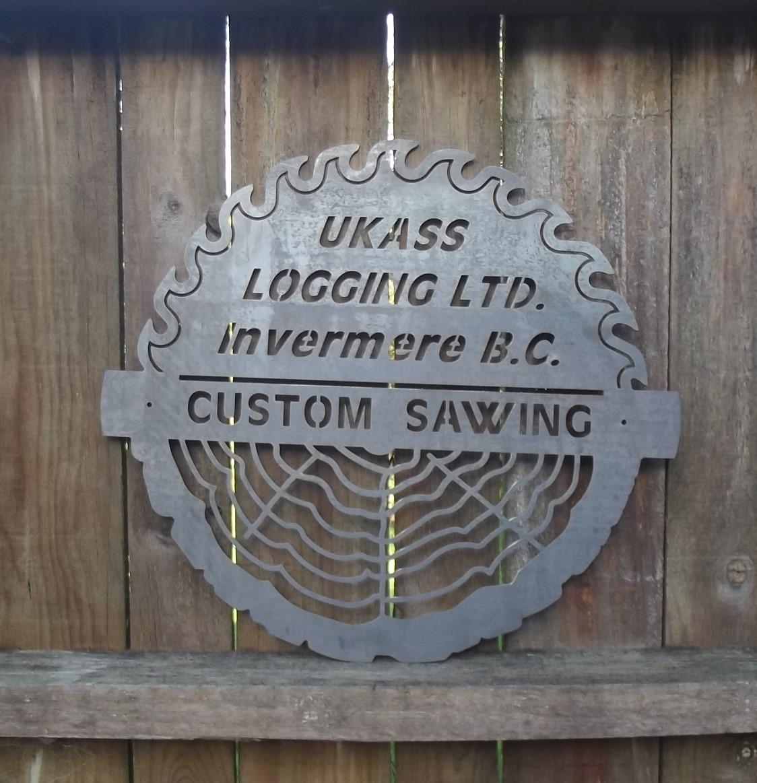 Sawmill Sign