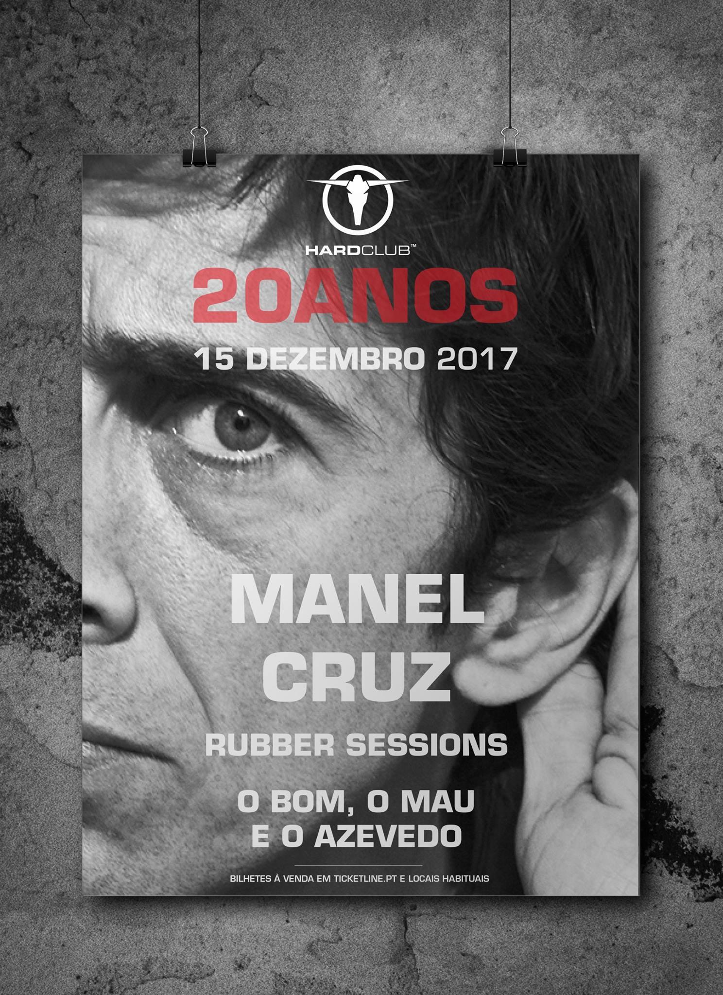 Cartaz Manel Cruz