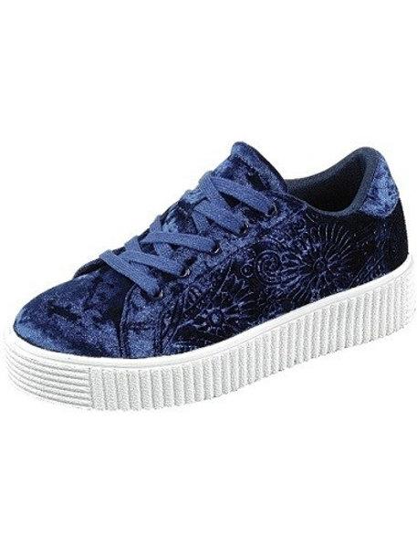 Velour Sneakers