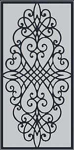 Dekoratif Lazer kesim Panel
