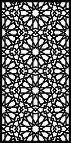 Arabic Lazer Kesim Metal Panel